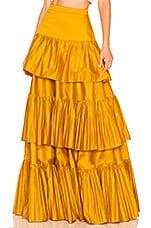 AMUR Mila Skirt in Turmeric