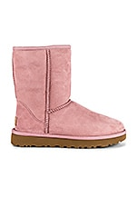 UGG Classic Short II Boot in Pink Crystal