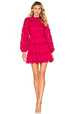 Ulla Johnson Amour Dress in Fuchsia