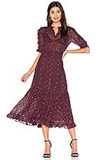 Ulla Johnson Adalie Dress in Bordeaux