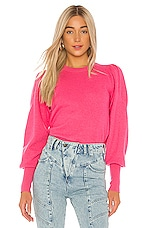 Ulla Johnson Katerina Pullover in Fuchsia