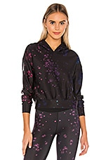 ultracor Serendipity Crop Hoodie in Pink Patent