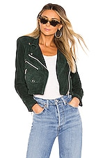 Understated Leather X REVOLVE Mercy Cropped Jacket in June Bug
