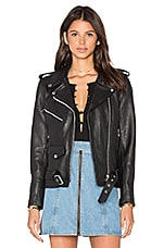 Understated Leather x REVOLVE Easy Rider Moto Jacket in Black