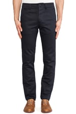 Twill Chino in Navy