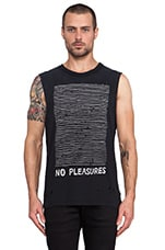 No Pleasures Tank in Black