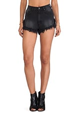 Slitz Shorts in Black