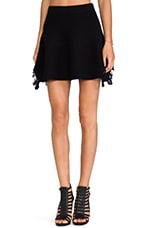 Hardy Mini Skirt in Black