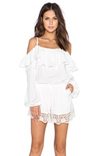 VAVA by Joy Han Chantily Romper in White