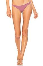 vitamin A Samba Bikini Bottom in Dusty Rose