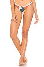 vitamin A Rosie Bikini Bottom in Mezcal