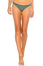 vitamin A Luciana Bikini Bottom in Sage