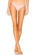 vitamin A California High Leg Bottom in Perla Rosa