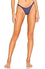 vitamin A Carmen Bottom in Deep Blue EcoLux