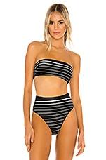 vitamin A Mila Bikini Top in Midnight