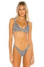 vitamin A Neutra Bralette Bikini Top in Savanna