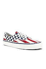 Vans Era 95 DX in OG Red Stripes & OG Blue Check