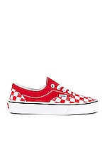 Vans Era in Racing Red & True White