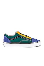 Vans Old Skool in Cadmium Yellow & Tidepool