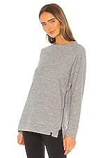 Varley Sierra Sweatshirt in Grey Marl