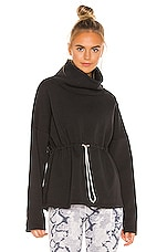 Varley Barton Sweatshirt in Black