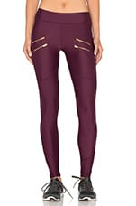 Sofia Compression Tight en Bordeaux