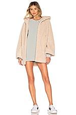 Varley Cowan Coat in Whispering Pink
