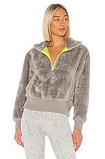 Varley Duray Fleece Pullover in Grifin