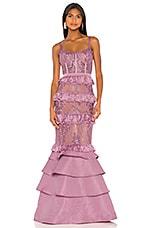 V. Chapman X REVOLVE Protea Gown in Lavender Mist