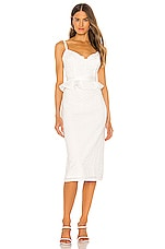 V. Chapman Lorraine Dress in White