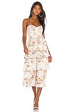 V. Chapman Daphne Dress in Savannah Rose Sunset