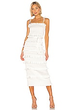 V. Chapman Lily Dress in White