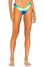 VDM Stevie Bikini Bottom in Neon Tie Dye