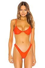 VDM Livinia Bikini Top in Orange