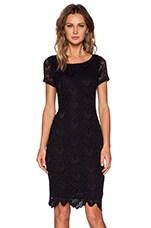 Kiara Lace Zoya Dress in Black