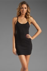 Kelisha Baby Jersey Layering Tank Dress in Black