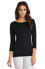 Natashya Baby Jersey Long Sleeve in Black