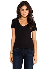 Baby Jersey Almeda Shirt in Black