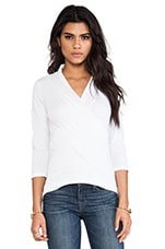 Adora Whisper Classic Top in White