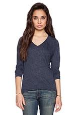 Soft Texture Knit Topaz Top in Splash