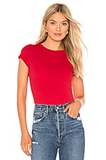 Velvet by Graham & Spencer Jemma Tee in Red Pepper