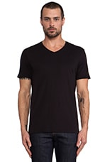 Favorite Jersey V-Neck in Black