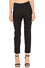 Side Zip Pant en Noir
