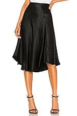 Vince Bias Skirt in Black
