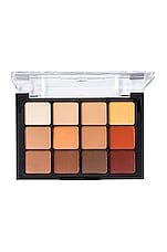 Viseart Eyeshadow Palette in 10 Warm Mattes