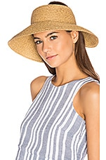 Vix Swimwear Travel Visor in Natural