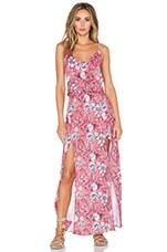 Maxi Dress in Jardin Pink