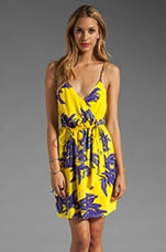 St. Barths Tess Short Dress in Yellow