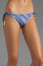 Curacao Long Tie Side Bottom in Blue