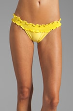 Sierra Rouche Band Bottom in Yellow